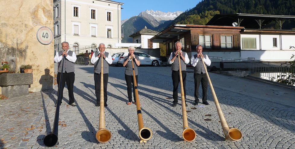 Alphorn Flims - Festival della Castagne