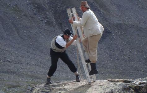 Bergtheater: Ein Russ im Bergell (Keschhütte)