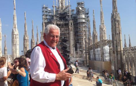 Alphorn Weltrekord in Milano anlässlich der Expo